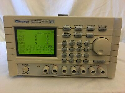 Instek Pst-3202 Programmable Power Supply