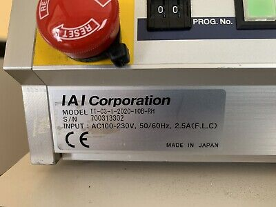 Iai Corporation Tt-c3-i-2020-10b-rh Table Top Robot Cnc
