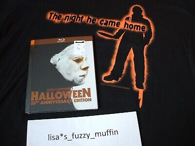 HalloweeN Blu-ray BRAND NEW 35th Anniversary Edition Limited Digibook 1978🎃2013 - Halloween 35th Anniversary Edition