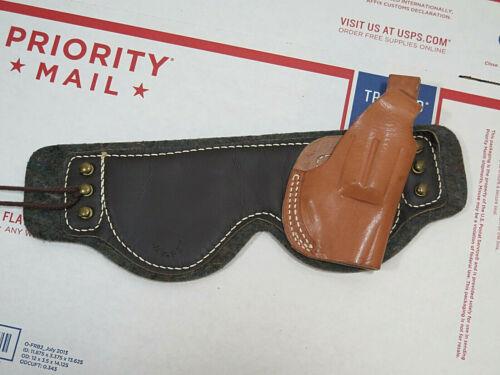Jaypee Leather Ankle Pistol Holster