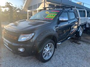 Ford ranger 2014 xlt dual/cab 4x4 3.2 Turbo Diesel Mittagong Bowral Area Preview