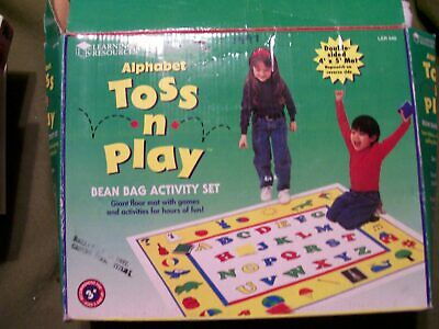 Learning Resources Alphabet Toss N Play Bean Bag Activity Set Ages 3+ (Complete)