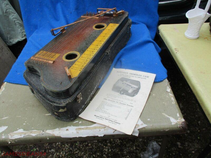 Vintage Tremoloa Hawaiian Slide Instrument IN CASE