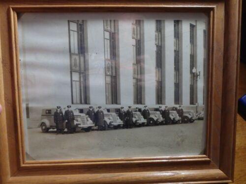 MINNEAPOLIS  MINNESOTA POLICE DEPARTMENT 1939 POLICE CRIUSER POLICE MEN