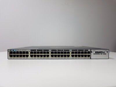 CISCO WS-C3750X-48P-S  Gigabit Ethernet Ports SWITCH  £1250 + VAT