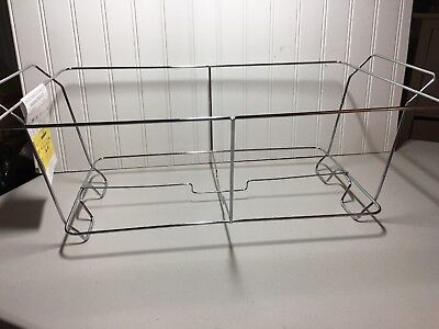 Chafing Dish Wire Rack Single can LeoLight 202 12.5x8  New with tags Set Of 4](Wire Chafing Dish)