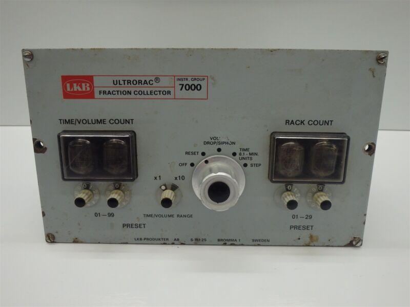 Vintage LKB Bromma Ultrorac 7000 Fraction Collector