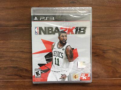 NBA 2K18 - PlayStation 3 PS3 [Brand New/Factory Sealed/US version]