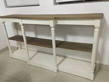 French provincial la Maison original shelf/stand white and solid wood Burwood Heights Burwood Area Preview