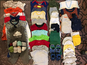 Baby boy batch of clothes (0-3 months)