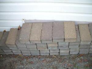 Driway stones.