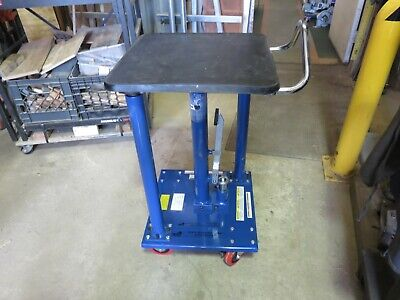 Vestil Ht-05-1818a Hydraulic Lift Table Load Cap. 500 Lb.presto Wescolexco
