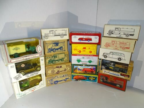 Lot 18 Diecast Truck Tankers Coin Banks ERTL Scale Models Toys J.L. ERTL Vans