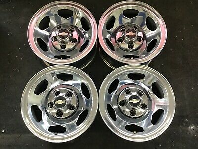 "15"" Chevy Silverado 454 SS GMC Sierra Rims 5-Lug Factory Wheels STEEL OEM #1670"