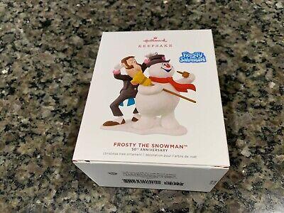 2019 Hallmark Frosty The Snowman 50th Anniversary Ornament