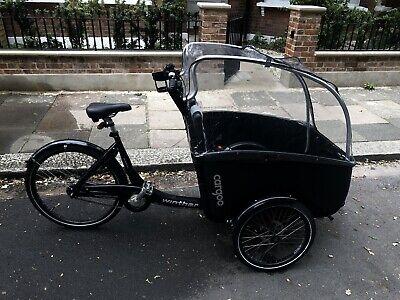 Cargo Bike - Classic Family Bike - Winther - Cargoo - black