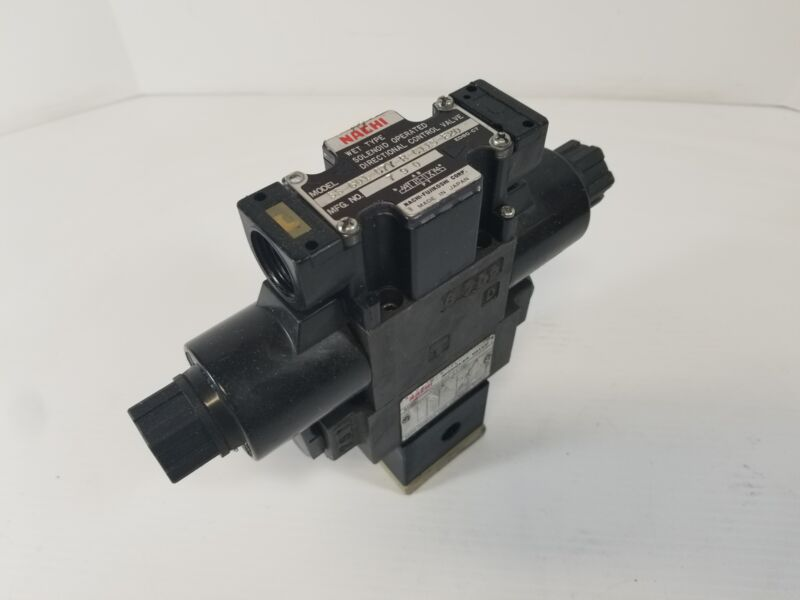 Nachi SS-G01-C7Y-R-C115-E20 Stack Directional Control Valve
