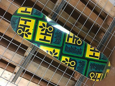 New Habitat Pod Compressed Small Blue/Yellow Skateboard Deck - 8.125in