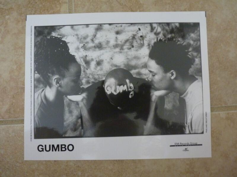 Arrested Development Gumbo B&W 8x10 Photo Music Promo
