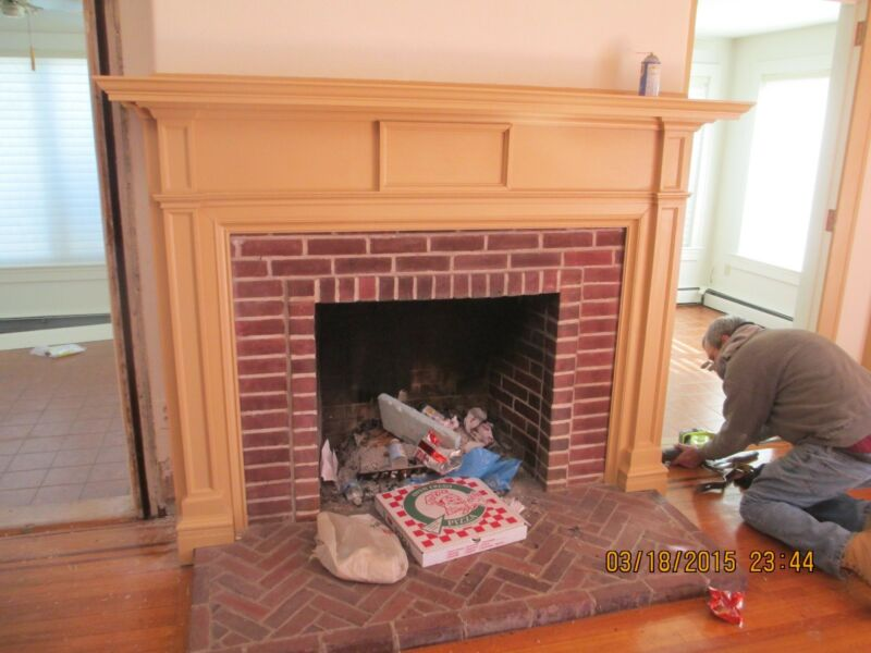 FIREPLACE MANTLE / MANTLE /  SURROUND  WE SHIP!!!!