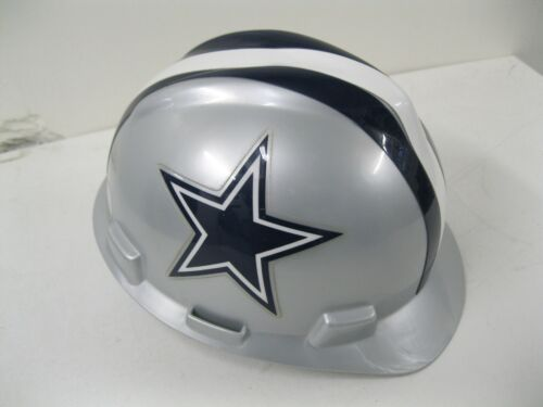 NEW V-GARD WORKER HARD HAT CAP HELMET PROTECTION~FAS-TRAC~MSA~MEDIUM~NFL~COWBOYS