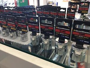 GearWrench Assorted Sockets (Metric & SAE) Brunswick East Moreland Area Preview