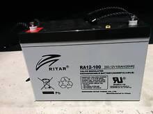 Battery Deep Cycle Ritar RA12V -100A/H AGM Marcus Beach Noosa Area Preview