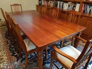 Tasmanian Blackwood Dining Table