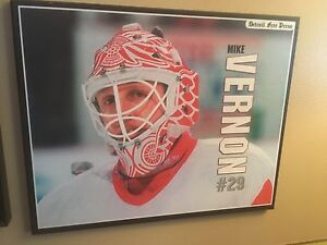 Detroit Red Wings and various other man cave items