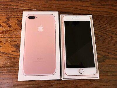 Unlocked Apple iPhone 7 Plus A1784 256GB Rose Gold