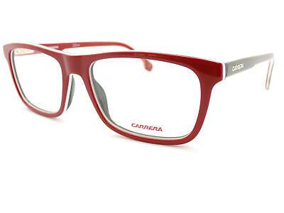 Carrera Unisex Glänzend Rot  black white 53mm Optisch Brillengestell 1106 / V