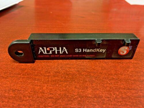Alpha S3 Security Key Handkey Anti-Theft NEW