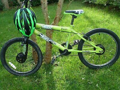 "Green & Black Boys 20"" Wheel BMX Flite Panic Bicycle"