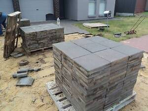 Recyled pavers...CHARCOAL.. Near New...On PALLETS....from $15 North Plympton West Torrens Area Preview
