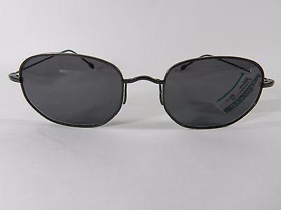 John Varvatos Women's V907 Black Angular Sunglasses