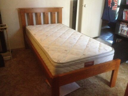 Wanted: Single Pine Bed with Matress
