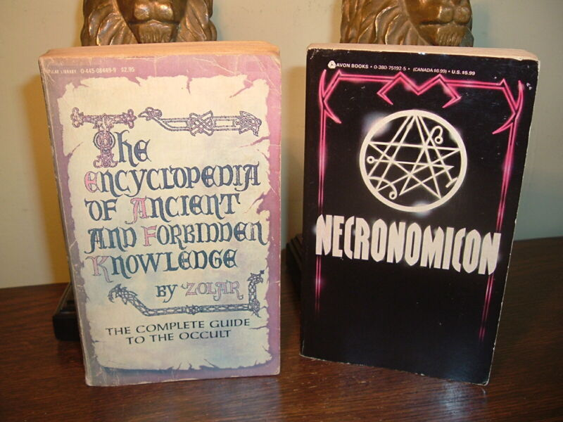 OCCULT LOT- Encyclopedia of Ancient and Forbidden Knowledge Zolar + NECRONOMICON