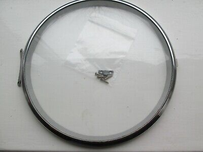 A SMITHS/ENFIELD STIKING/WESTMINSTER MANTEL CLOCK CHROME BEZEL OUTER DIA 160MM