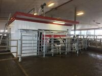 Part time work on a dairy farm