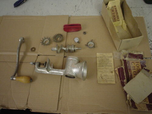 Vintage Universal No. 2 Hand Crank Iron Meat Grinder Food Chopper