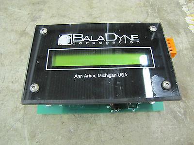 Baladyne Bala Dyne Balance Dynamics Remote Display Dn 2121 Aa03.1765 Aa03-1765