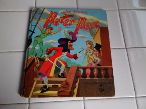 Peter Pan, A Cozy Corner Book,1952(VINTAGE WALT DISNEY; Children