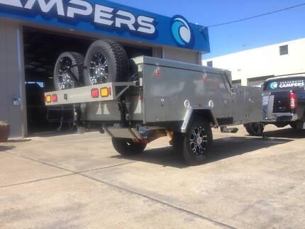 New! Foward Folding Off Road Rear Slide Broadwater Camper Trailer