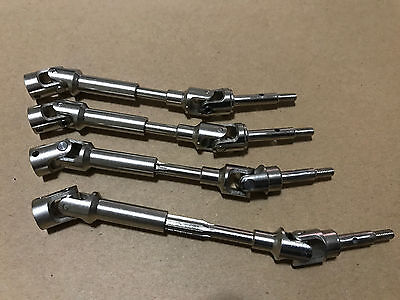 HD Hardened Steel Driveshafts CVD Kit For Traxxas Rally VXL 4x4