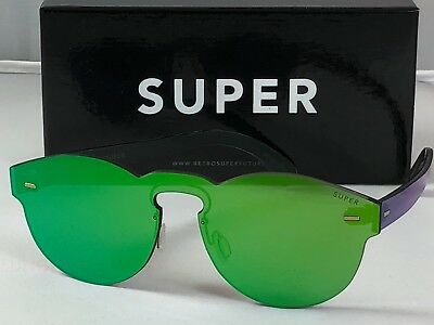 Retrosuperfuture Tuttolente Paloma Green Frame Sunglasses SUPER QR0 48mm NIB