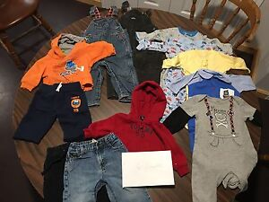 Baby boys clothes 6-12months