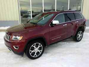 2016 Jeep Grand Cherokee Limited 4x4 - Only 18,000 km's