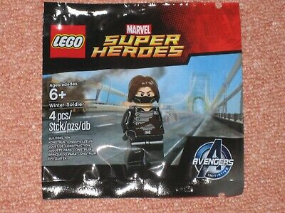 LEGO 5002943 Marvel Super Heroes Avengers Winter Soldier New Factory Sealed