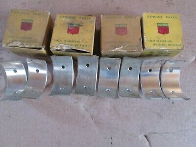 Oliver Tractor 60 Brand New 4 Engine .003 Rod Bearings Set Nos