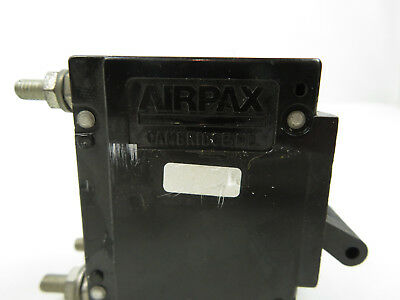 New Airpax Circuit Breaker Mag-hydr Lever Upl11-2402-1-nd 2 Pole Panel Mount 20a